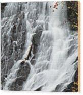 Eagle River Falls Wood Print
