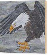 Eagle Study 2 Wood Print
