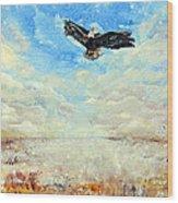 Eagles Unite Wood Print