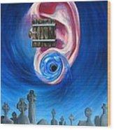 Ear To Hear Wood Print