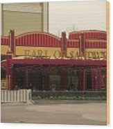 Earl Of Sandwich Downtown Disneyland Wood Print