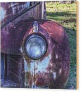 Early 1950s Automobile 1 Wood Print