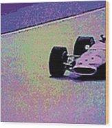 Early 60's Era Formula 1 Race Wood Print