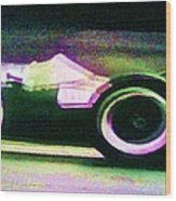 Early 60's F1 Racer Wood Print