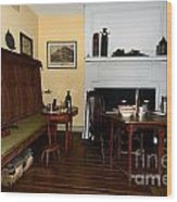 Early American Dining Room Wood Print