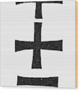 Early Christian Symbol Wood Print