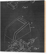 Early Computer Mouse Patent 1984 Wood Print
