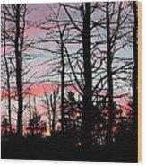 Early Fall Sky Vi Wood Print