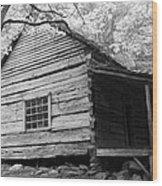 Early Homestead -3 Wood Print