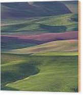 Early Light In The Palouse Wood Print