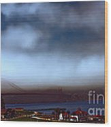 Early Morning At The Golden Gate Wood Print