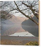 Early Morning Glendalough Wood Print