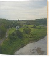 Early Morning In The Countryside Of Quebec Wood Print