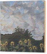 Early September Dawn Wood Print by Grace Keown