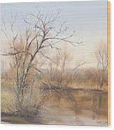 Early Spring  Awakes Wood Print
