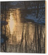 Early Winter Morning Wood Print