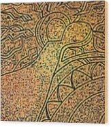 Earth And Sun Wood Print