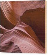 Earth Below Wood Print