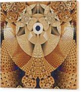 Earth Mosaic Wood Print