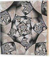 Earth Tones Wood Print