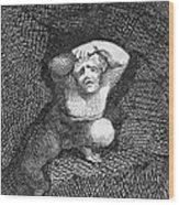 Earth Wood Print by William Blake