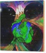 Earthheart Wood Print