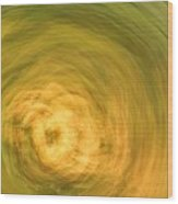 Earthly Whirlpool Wood Print