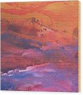 Earth's Canvas Wood Print