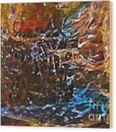 Earthy Abstract Wood Print