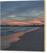 East Beach Santa Barbara Wood Print