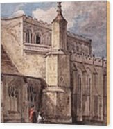 East Bergholt Church, Northside Wood Print