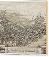 East Boston 1879 Wood Print