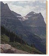 East Glacier National Park Wood Print