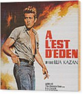 East Of Eden, French Poster Art, James Wood Print