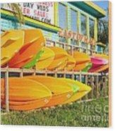 East Of Maui - Dewey Beach Delaware Wood Print