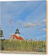 East Point In September Wood Print