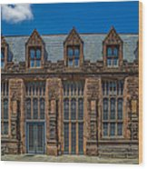 East Pyne Hall Wood Print