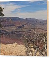 East Rim Grand Canyon Wood Print