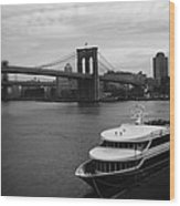 East River Afternoon Wood Print