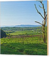 East Tennessee Wood Print