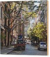 East Village Wood Print