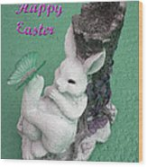 Easter Card 1 Wood Print