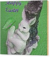 Easter Card 2 Wood Print