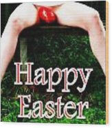 Easter Card 3 Wood Print