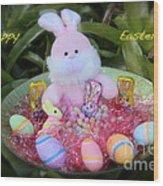 Easter Card Wood Print
