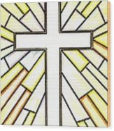Easter Cross 3 Wood Print