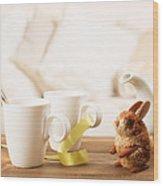 Easter Drinks Wood Print