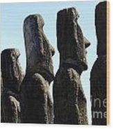 Easter Island 11 Wood Print