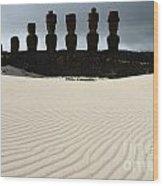 Easter Island 9 Wood Print