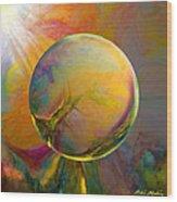Easter Orb Wood Print